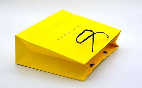 手提袋印刷黄色手挽袋