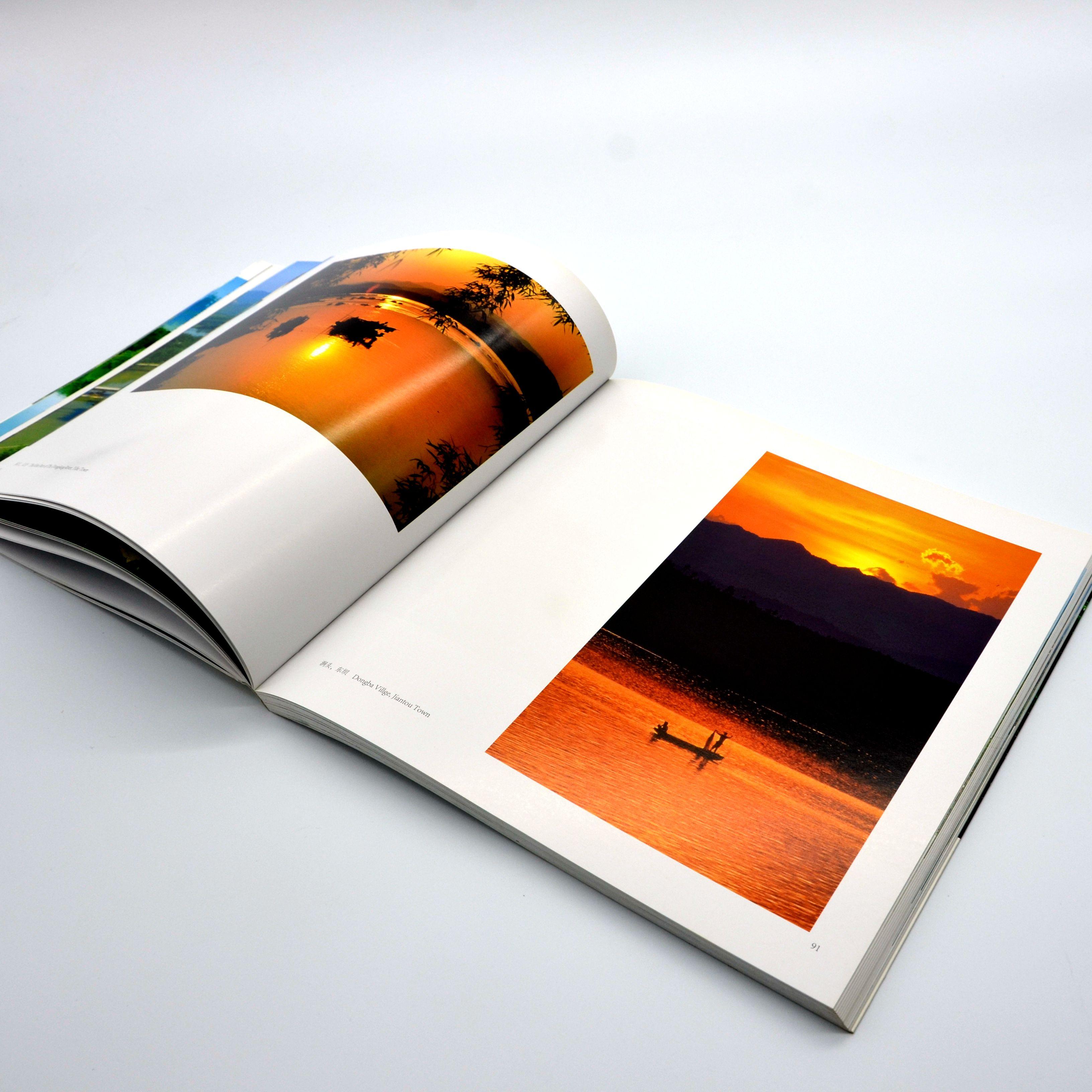 色彩漂亮的攝影畫冊色差小還原好