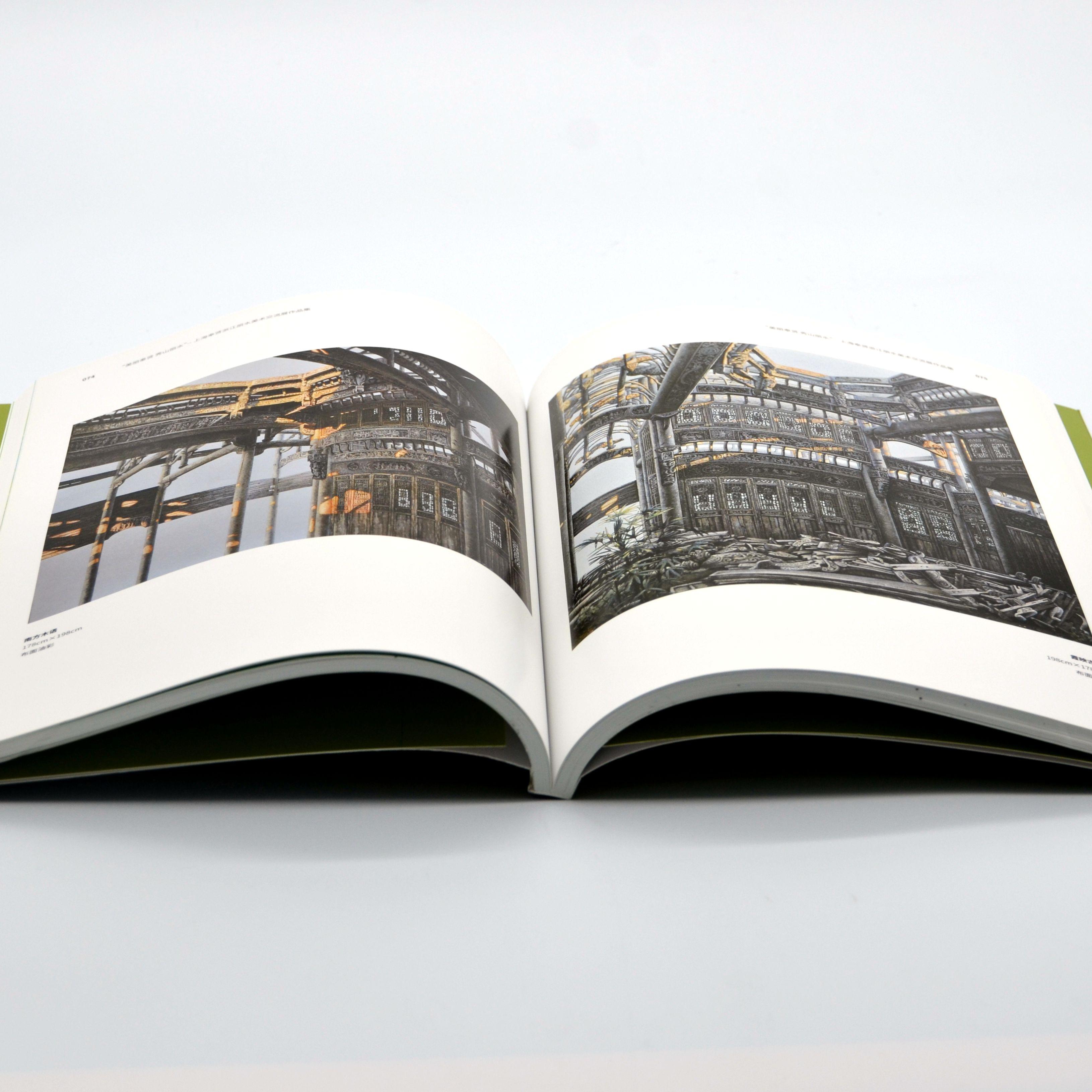 印刷有难度的摄影画册