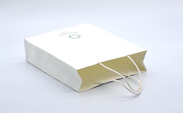 手提袋印刷包装白牛皮手袋定制